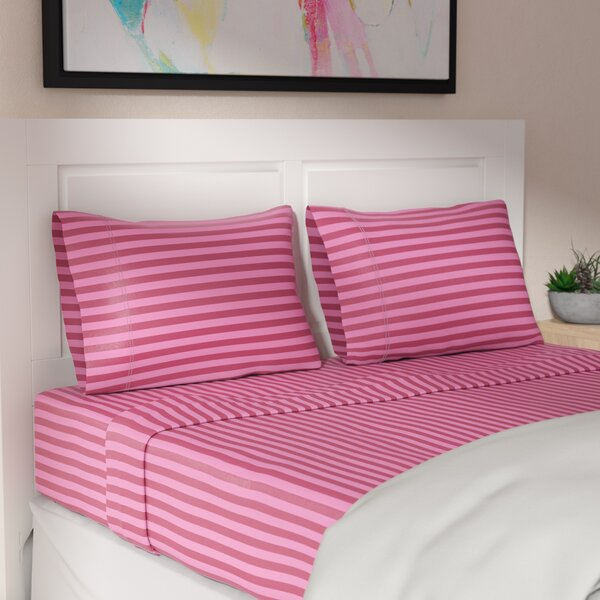 Harding 200 Thread Count 100% Cotton Sheet Set by Ivy Bronx